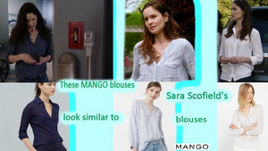 Prison Break Season 5: These mangue blouses look similar to Sara Scofield's blouses