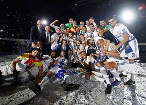 Real Madrid's 12th UEFA Champions League Celebration picture