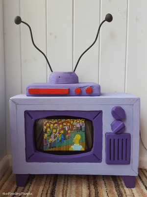 Real Working Simpsons TV DIY Project