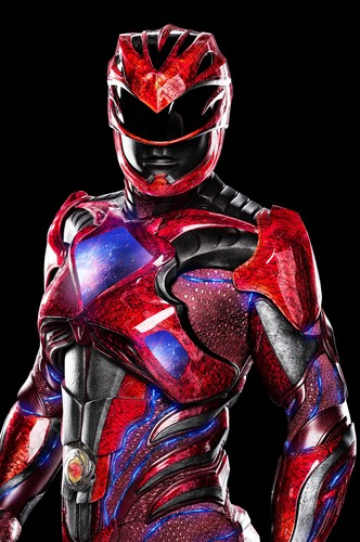 The Power Rangers karatasi la kupamba ukuta called Red Ranger