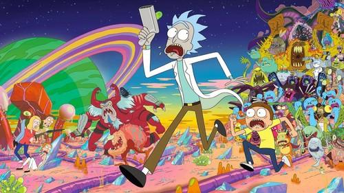 야오이 바탕화면 called Rick And Morty