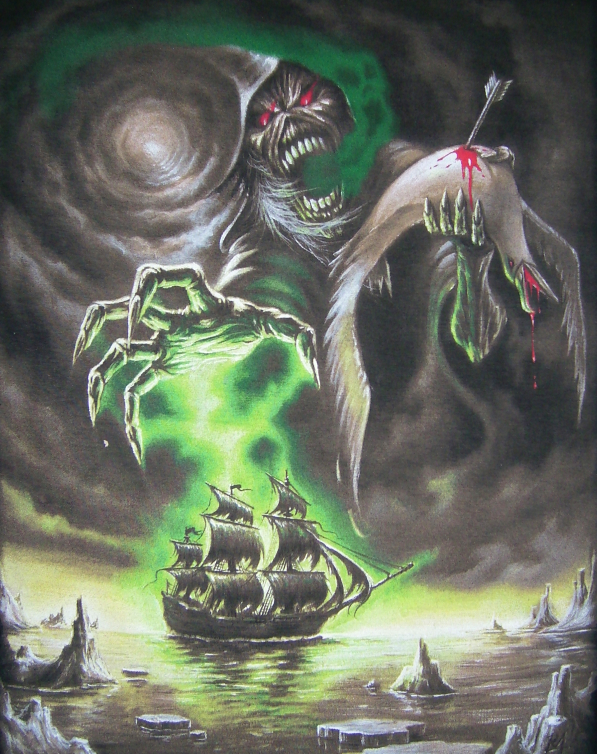 Rime of The Ancient Mariner iron maiden 25917392