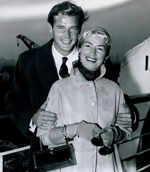Roger And Second Wife, Dorothy Squires