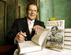 Roger Moore's Book Signing Event
