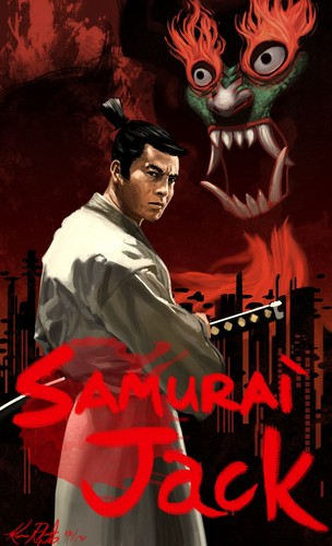 Samurai Jack Hintergrund titled Samurai Jack (Movie Poster)