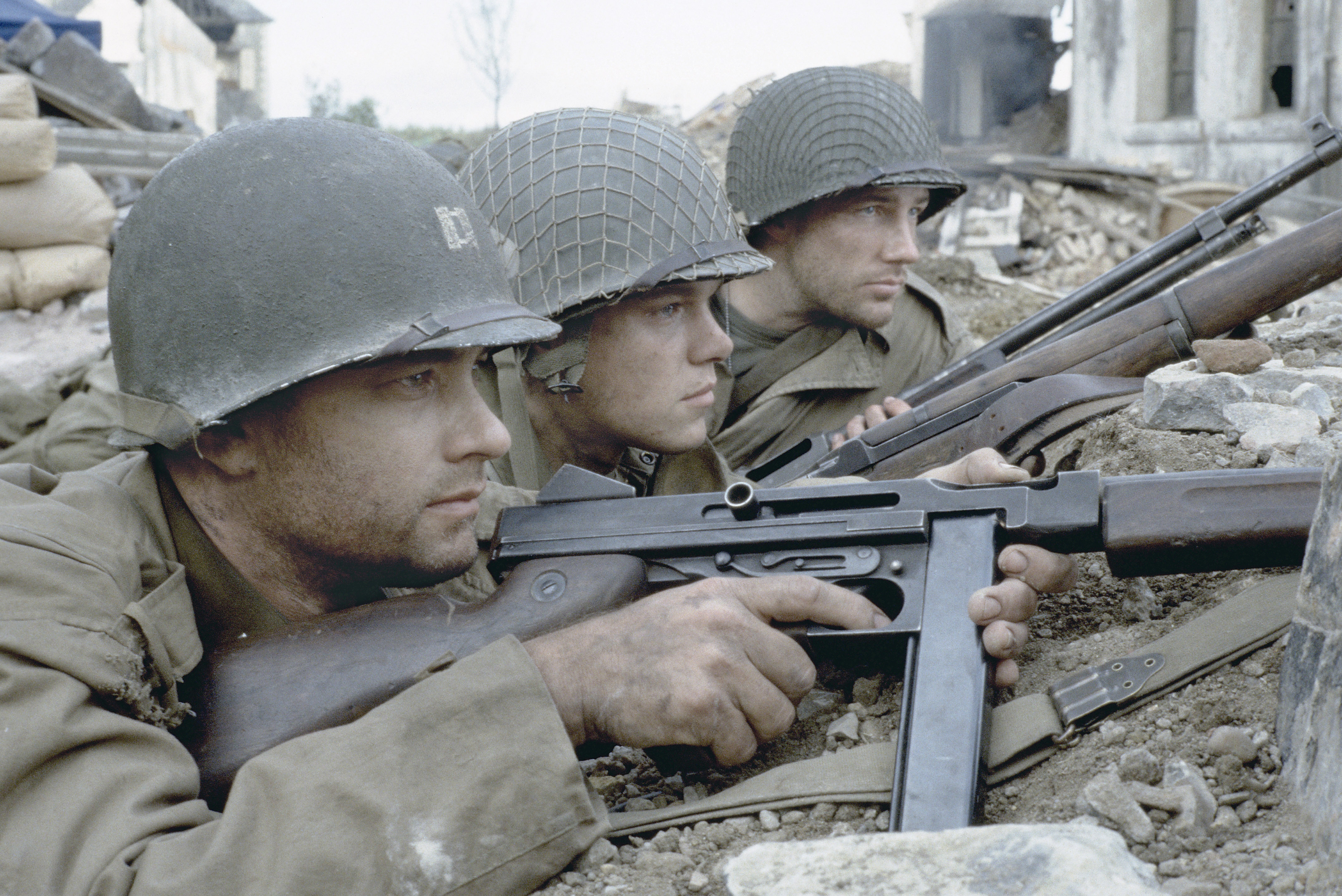 a comparison of two films concentrated on world war ii entitled saving private ryan and fury Max hastings reveals horrors of second world war with chilling first-hand testimonies drawn into world war ii ryan savage films shocking.