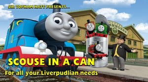 Scouse in a Can advertisement