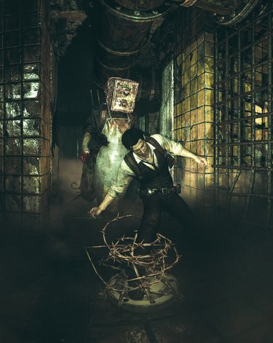 The Evil Within Wallpaper Entitled Sebastian And Keeper