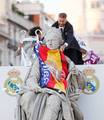 Sergio Ramos at the celebration of Real Madrid's 12th UEFA Champions League - sergio-ramos photo