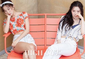Seulgi and Irene for High Cut Magazine June 2017 Issue