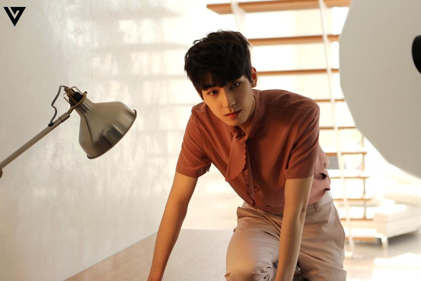 Seventeen 4th Mini Album 'Al1' giacca Shooting Behind The Scene