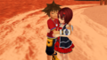 Share their Heart Together Sora x Kairi KH1 .