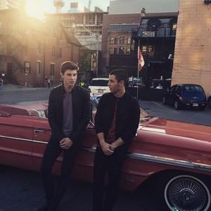 Shawn and Nick Jonas