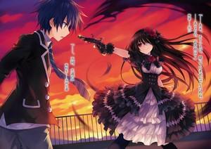 Shido and Kurumi