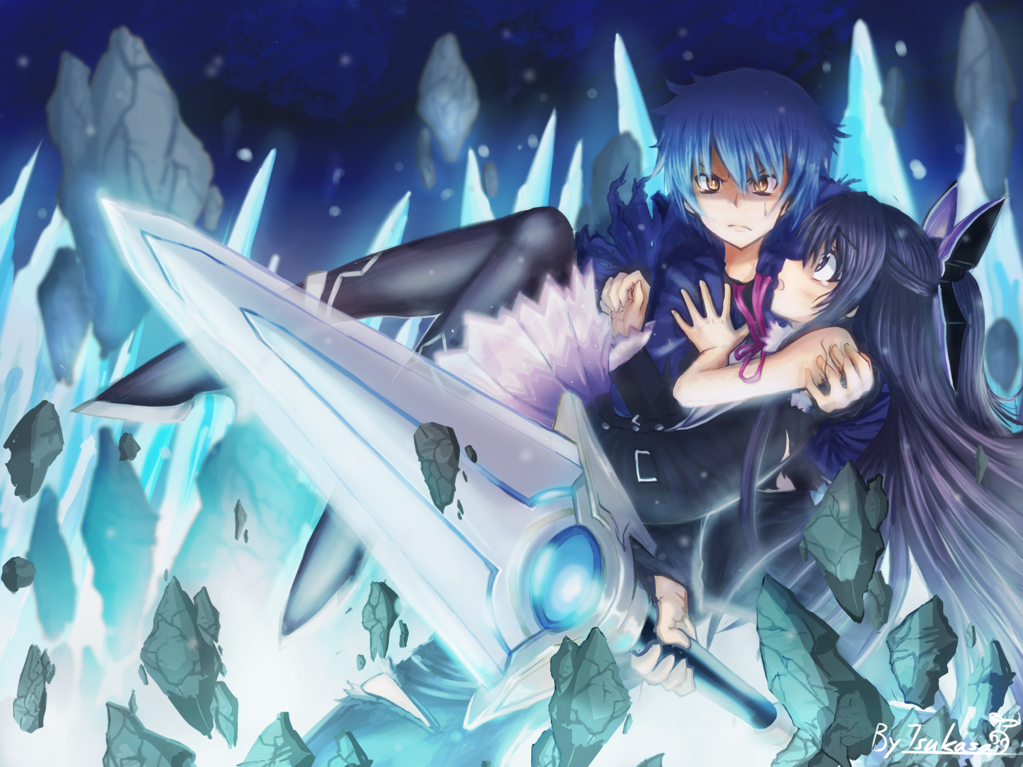 Date A Live HD Wallpaper | Background Image | 1920x1080 ... |Shido Itsuka And Tohka