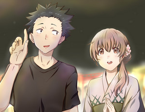 Shouko and Shouya