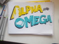 Sketch a - alpha-and-omega fan art