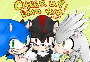 Sonic, Shadow, Silver