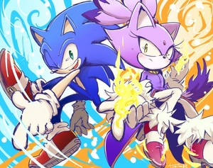 Sonic and Blaze (Sonaze)