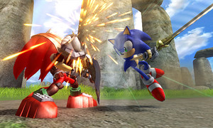 Sonic vs Sir Gawain