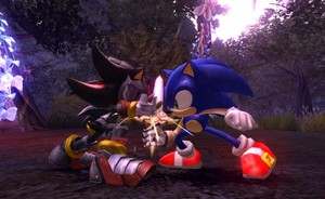Sonic vs Sir Lancelot