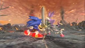 Sonic vs Sir Percival