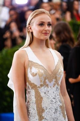 Sophie Turner at the 2017 MET Gala