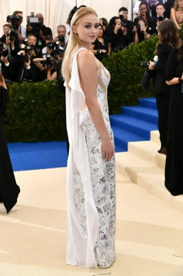Sophie Turner at the 2017 MET Gala