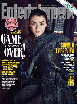 Stark reunion in Entertainment Weekly Photoshoot