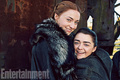 Stark reunion in Entertainment Weekly Photoshoot