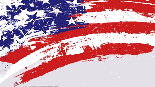 Elegant United States Of America Wallpaper Entitled Stars And Stripes