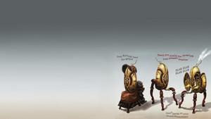 Steampunk Turrets