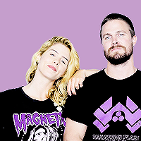 Stephen Amell Emily Bett Rickards Images Stemily Icons Photo