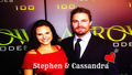 Stephen Amell & Cassandra Jean Wallpaper  - cassandra-jean wallpaper