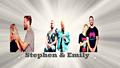 Stephen Amell and Emily Bett Rickards Wallpaper - stephen-amell-and-emily-bett-rickards wallpaper