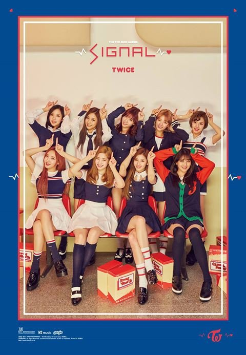 Twice Jyp Ent Imagens Twice Drop Album Cover For Signal