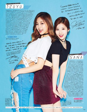 TWICE for Seventeen Japanese Magazine