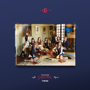 TWICE group teaser image for ''Signal''