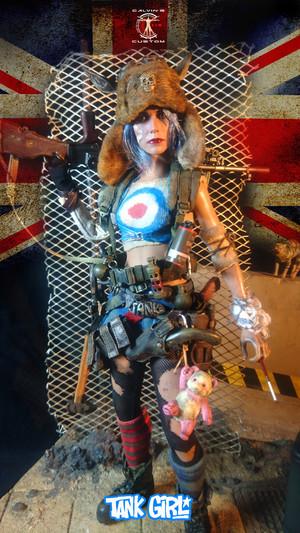 Tank Girl 1/6 One Sixth Scale action figure 由 Calvin's Custom