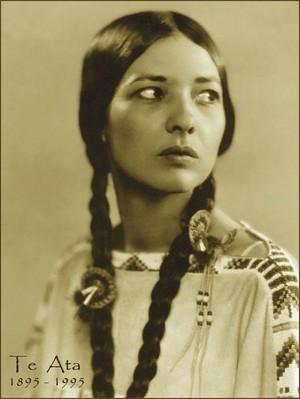 Te Ata Fisher (Chickasaw)