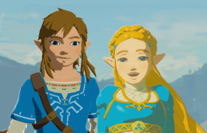 Thank bạn Link and Zelda Breath of the Wild MMD .