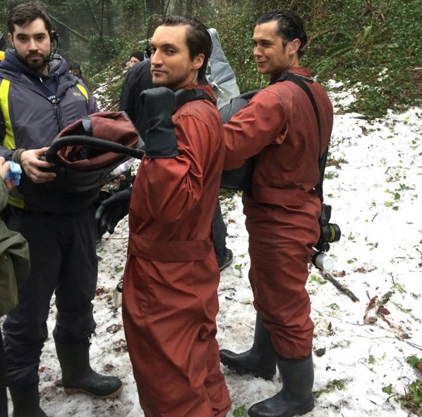 The 100 S4 BTS