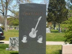 The Gravesite Of Roger And Larry Troutman