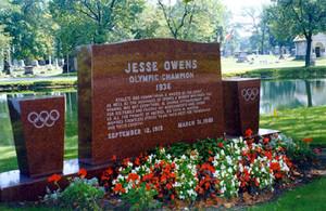 The Gravesite Of Jesse Owens