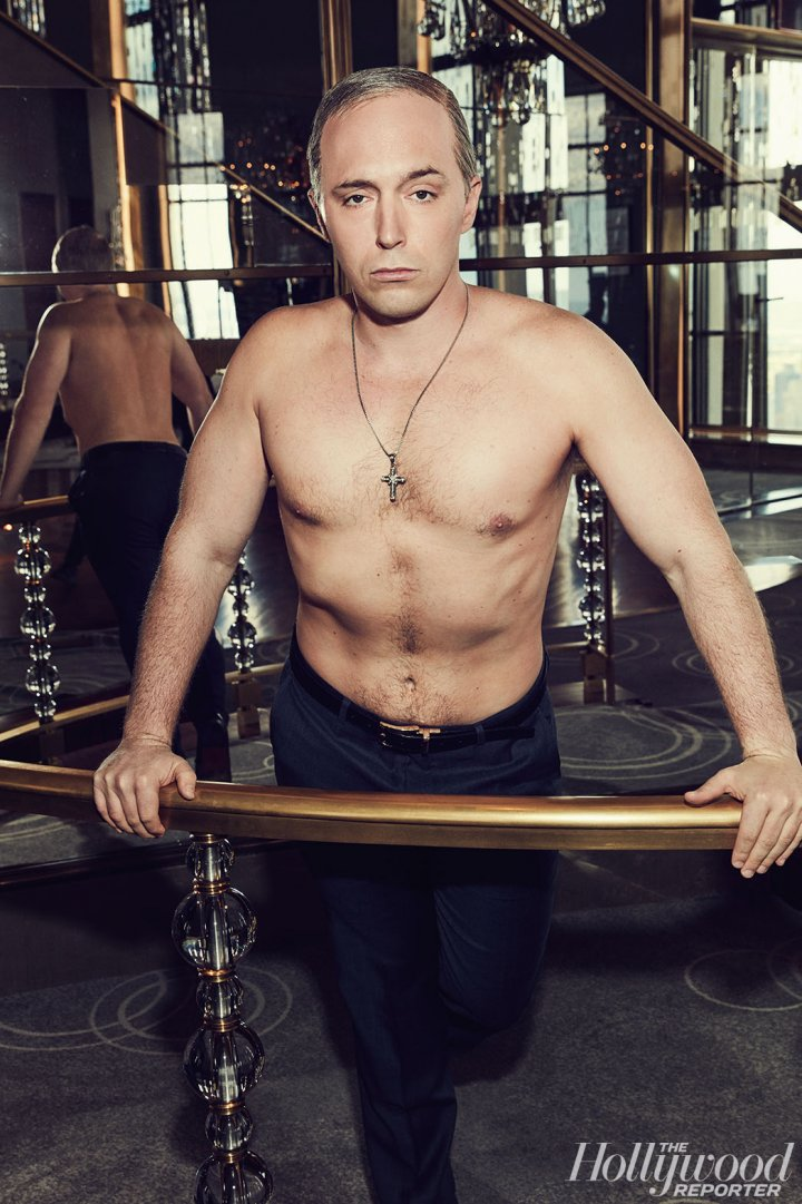 The Hollywood Reporter - SNL's Yuuuge Year - Beck Bennett as Vladimir Putin