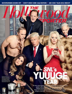 The Hollywood Reporter - SNL's Yuuuge год - Cover