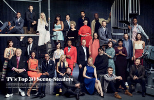 The Hollywood Reporter - TV's parte superior, arriba 30 Scene Stealers - 2017