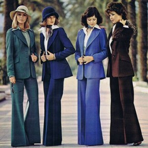 The Iconic Pantsuits