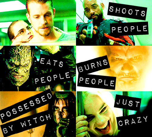 Suicide Squad wallpaper entitled The Skwad