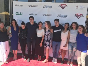 The flash,Arrow ,Supergirl